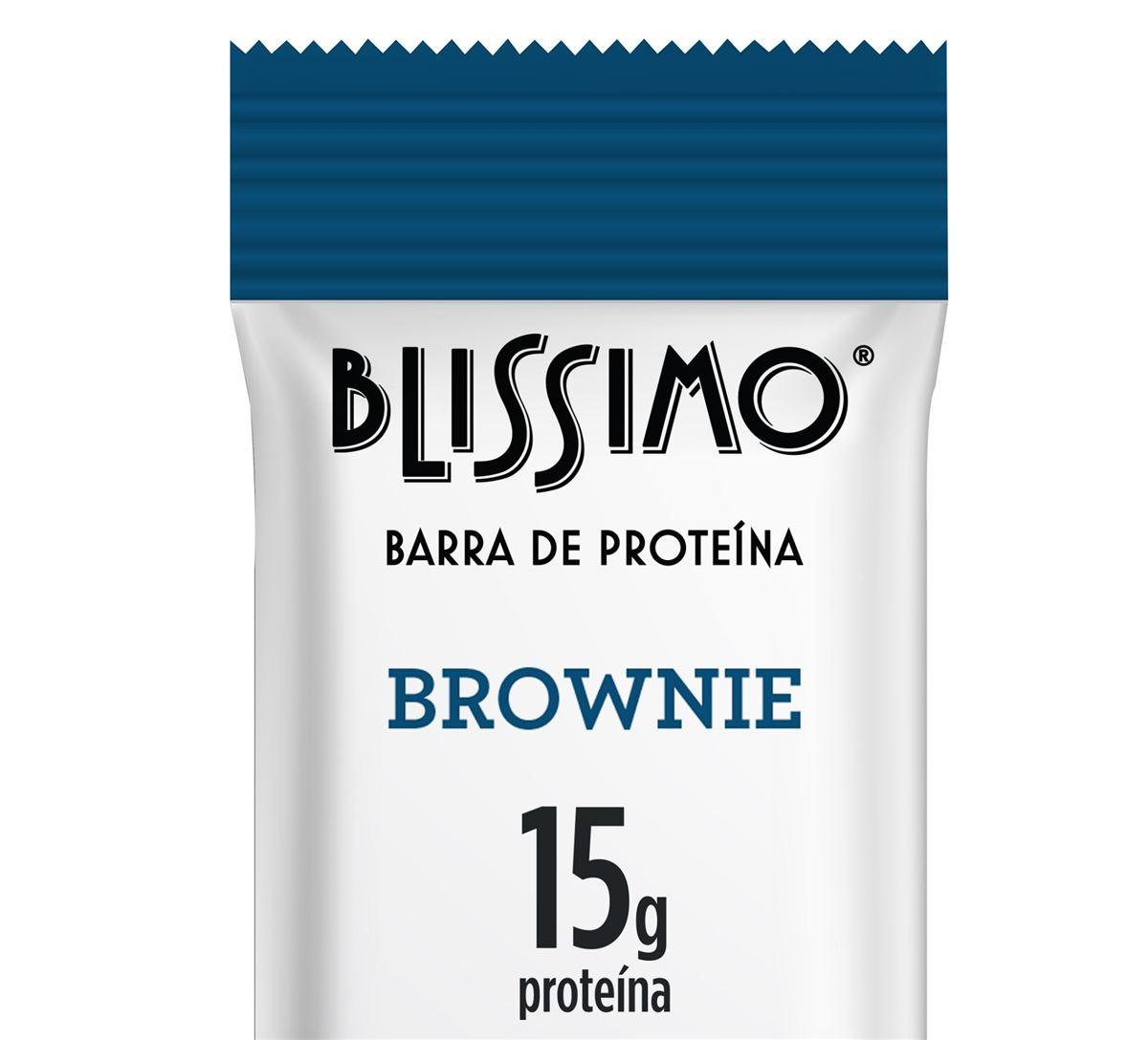8985a46f4 Blissimo lança primeira barrinha proteica - com whey protein - refrigerada  do Brasil