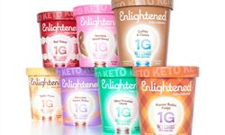 Marca de sorvete americana Enlightened lança Keto Collection para dietas cetogênicas