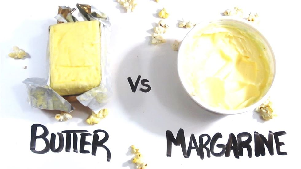 manteiga vs margarina