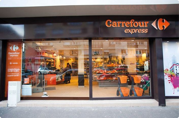 carrefour express - lojas menores