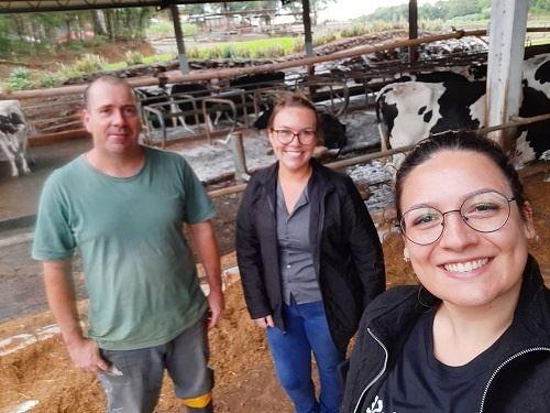 Visita Técnica do time COWMED na fazenda